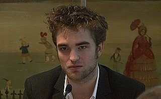Video of Robert Pattinson, Kristen Stewart, Taylor Lautner at UK Press Conference 2009-11-11 14:25:17