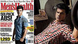 Photos of Taylor Lautner on the Cover of Mens Health Magazine