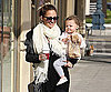 Slide Photo of Nicole Richie Carrying Harlow Madden From Coffee In LA