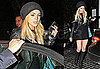 Lindsay Lohan Leaves a Restaurant in LA After Being Criticized by Ungaro