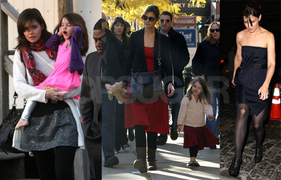 Photos of Katie Holmes And Suri Cruise
