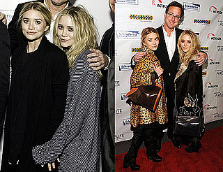 Photos of Ashley Olsen, Mary-Kate Olsen, John Stamos, Bob Saget, And Seth Meyers at the Cool Comedy Hot Cuisine Benefit 2009-11-10 11:00:32