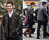 Photos of Shia LaBeouf, Michael Douglas, and Carey Mulligan on the Set of Wall Street 2 2009-11-11 08:47:12
