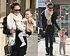 Photos of Nicole Richie and Harlow in LA at Coffee Bean