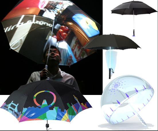 Six Awesomely Geeky Umbrellas