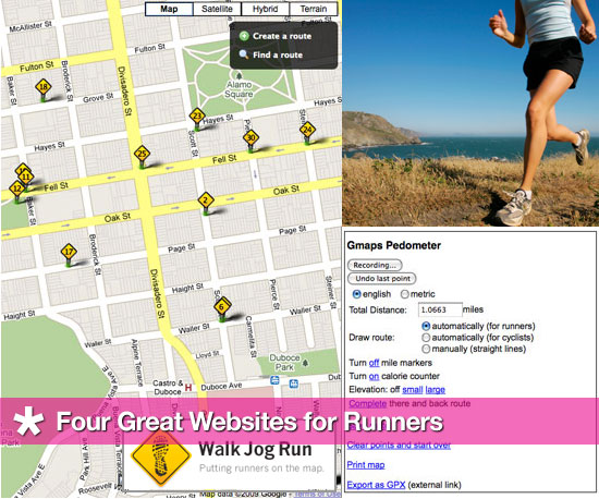 4 Great Websites For Runners