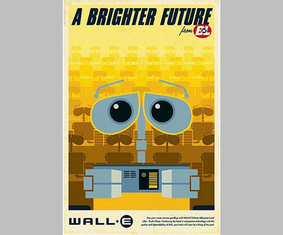 Retro Wall-E