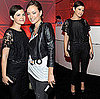Ginnifer Goodwin Attends U2&#039;s Concert Wearing All Black Lace