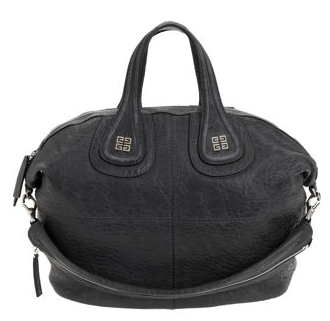 Givenchy Medium Pebbled Nightingale in Slate