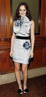 Leighton Meester Wears Prabal Gurung to the 2009 Library Lions Benefit at the New York Public Library