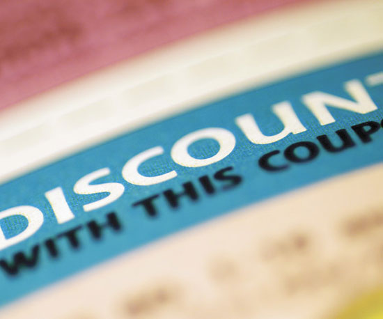 Coupons, Discounts, and Sales