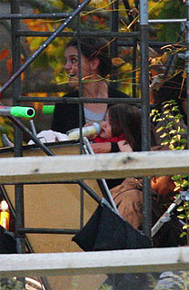 Suri Cruise Still Drinking From a Bottle
