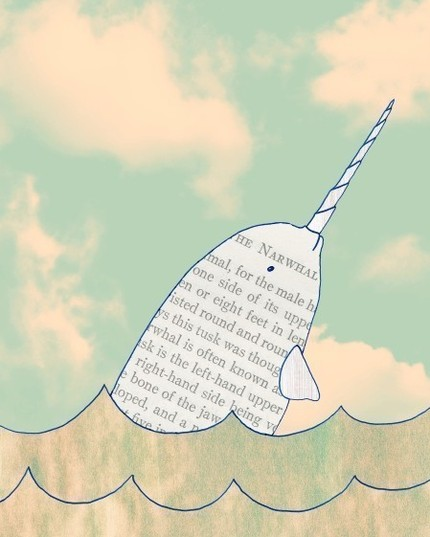 Add some magic to your room with this Narwhal Print ($18), an archival print of an original ink and digital artwork. I love the definition that's typed across the body!