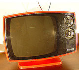 "To pick up one of your own, search on eBay for ""Philco Plastic Television."" I found this one currently up for bid."
