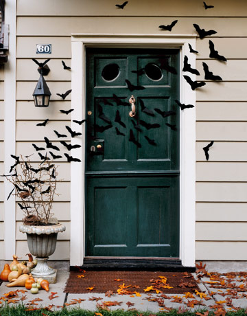 Country Living helps your front door go batty.