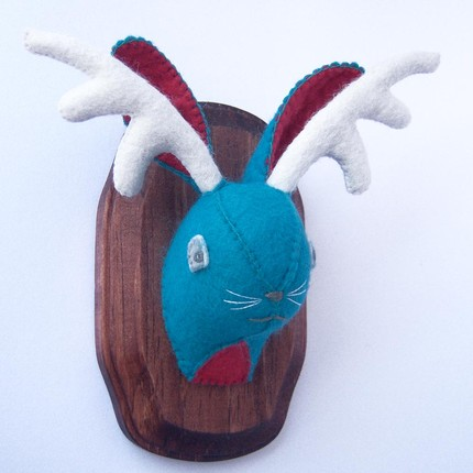 Jackalope 53 ($50) may not prove the existence of this mythical creature, but it sure is cute.