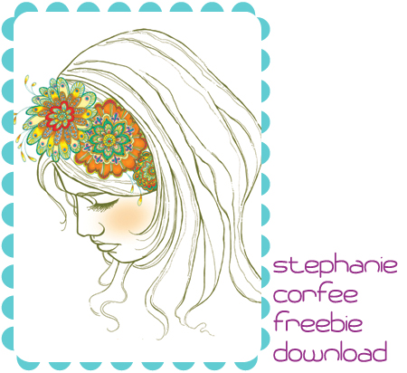 Indie Fixx artist Stephanie Corfee offers this free art download for your decorating pleasure.