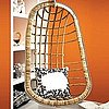 Would You Hang a Rattan Chair in Your Home?