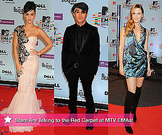 Photos From Red Carpet MTV Europe Music Awards 2009 MTV EMAs Including Katy Perry and Joss Stone