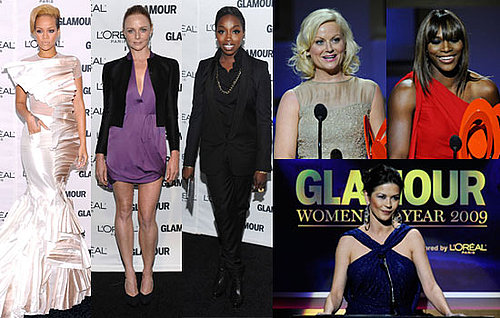 Photos of Rihanna, Stella McCartney, Estelle, Catherine Zeta-Jones, Amy Poehler, Serena Williams at Glamour Women of Year 2009