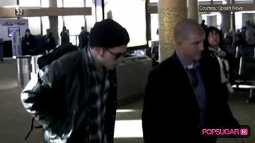 Video of Robert Pattinson and Kristen Stewart 2009-10-30 10:33:26