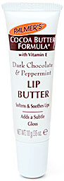 Doing Drugstore: Palmer's Dark Chocolate Peppermint Lip Butter