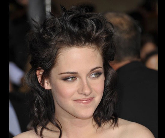 Pictures of Kristen Stewart's Hair at the New Moon Premiere