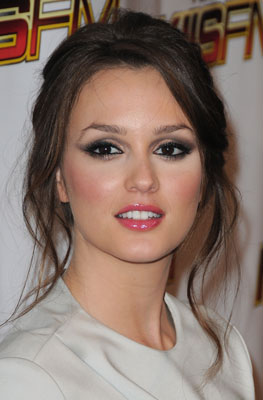 Leighton Meester Smoky Eye Makeup Tutorial 2009-12-07 14:00:54