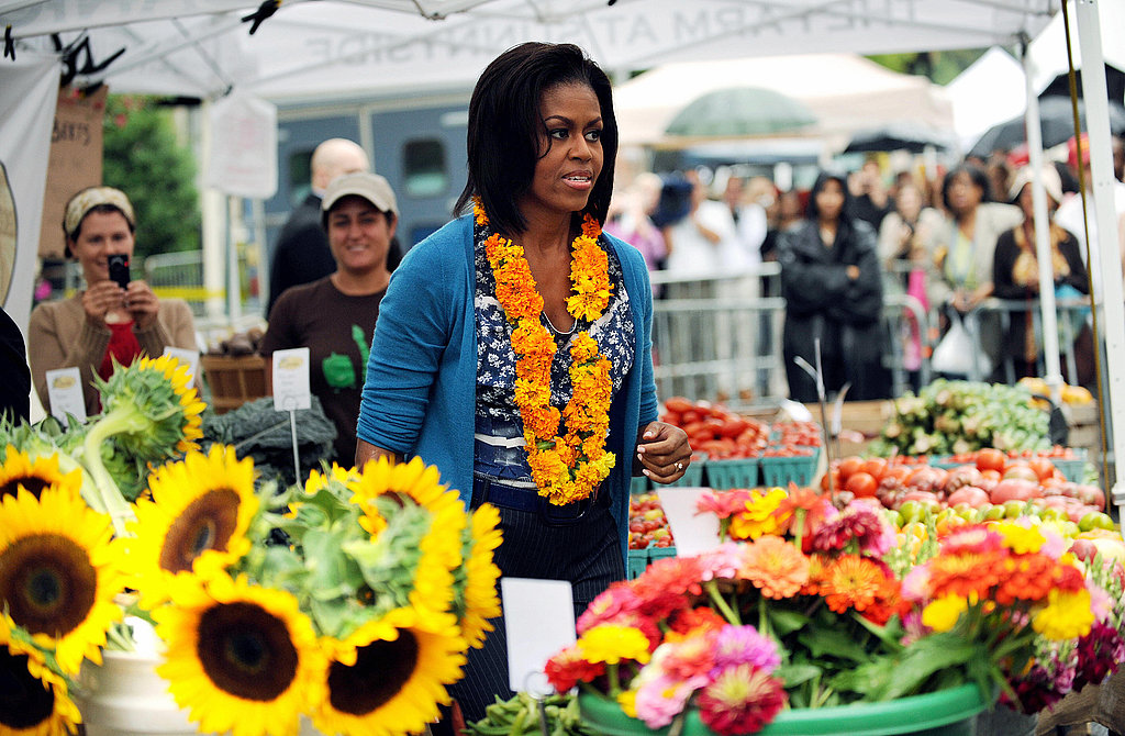 Obamas Start a Farmers Market at the White House