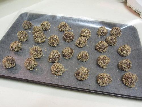 Bourbon-Pecan Truffles