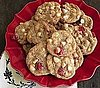 Paula Deen's White Chocolate Cherry Chunk Cookies