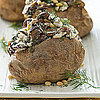 Spinach, Mushroom, and Feta Stuffed Baked Potato Recipe