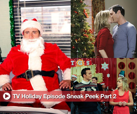 Sneak Peek of Photos From Upcoming TV Holiday Episodes Including The Office and 30 Rock