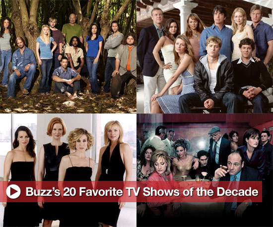 Buzz's 20 Favorite TV Shows of the Decade