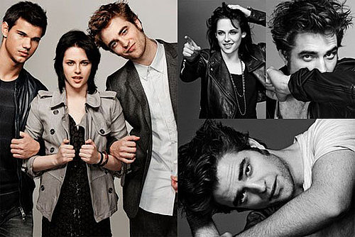 Photos of Taylor Lautner, Robert Pattinson, and Kristen Stewart's EW Outtakes