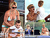 Britney Spears Bikini Photos With Sean Preston, Jayden James and Jason Trawick in Australia