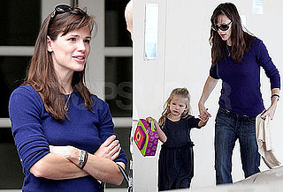 Jennifer Garner Drops Violet Affleck Off At School in LA Then Goes to Breakfast With a Friend