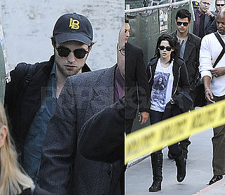 Photos of Robert Pattinson, Kristen Stewart, Taylor Lautner Arriving at LAX