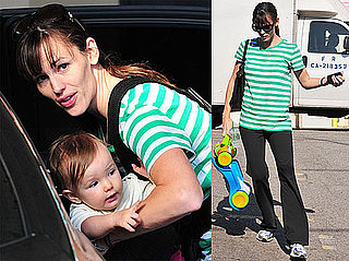 Photos of Jennifer Garner, Violet, and Seraphina in LA