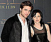 Slide Photo of Robert Pattinson and Kristen Stewart Together at Madrid New Moon Event