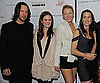 Slide Photo of Keanu Reeves, Robin Wright Penn, Blake Lively, Julianne Moore at Pippa Lee Screening