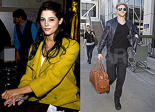 Photos of New Moon's Kellan Lutz at LAX; Ashley Greene Promoting in Illinois