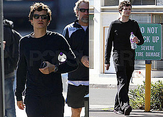 Photos of Orlando Bloom Walking in LA After a Workout