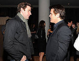 Photos of Matt Damon and John Krasinski in NYC