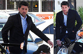 Photos of Patrick Dempsey Refueling His Car in LA