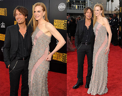 Photos of Nicole Kidman and Keith Urban at the AMAs 2009-11-22 16:44:56