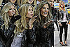 Photos of Heidi Klum and Alessandra Ambrosio With the VS Angels in NYC 2009-11-18 14:20:54