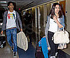 Slide Photo of Dev Patel and Freida Pinto Leaving LAX Together
