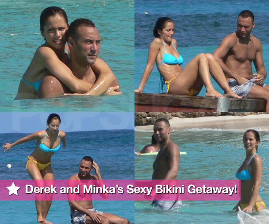 Derek and Minka's Sexy Bikini Vacation!