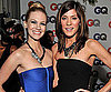 Slide Photo of January Jones and Jennifer Carpenter at GQ Men of the Year Pary
